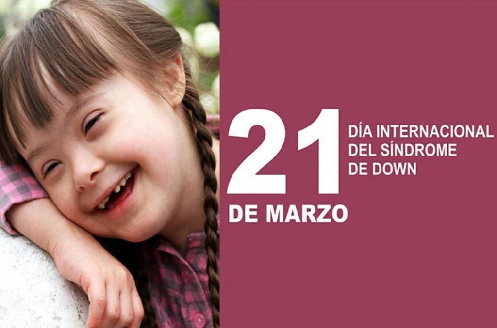 21/Marzo, Día mundial del Síndrome de Down.